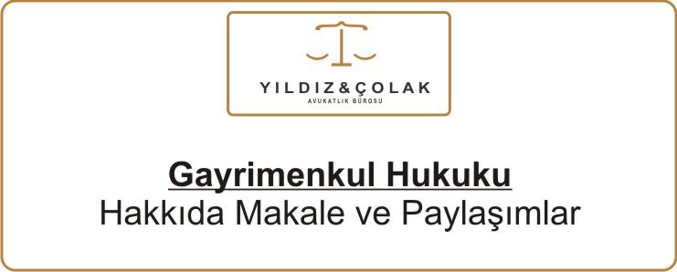 Gayrimenkul Hukuku - Ankara Avukat